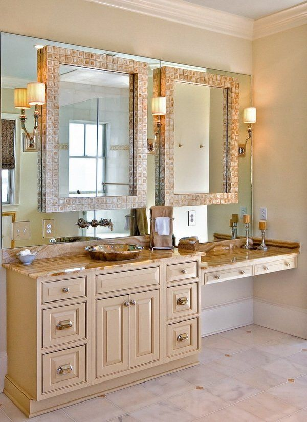 Decorating Bathroom Mirrors Ideas best 25+ traditional bathroom mirrors ideas on pinterest | white