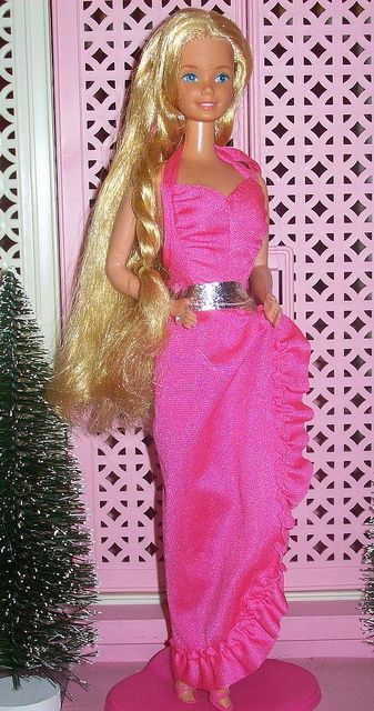 Barbie - Twirly Curls Barbie, 1982