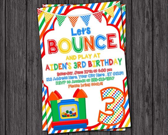 Best 10 Bounce House Birthday Ideas On Pinterest Bounce House