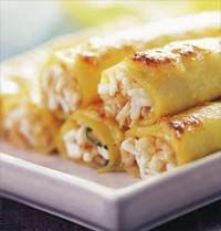 Canelones de Pollo... My suegritas recipe!