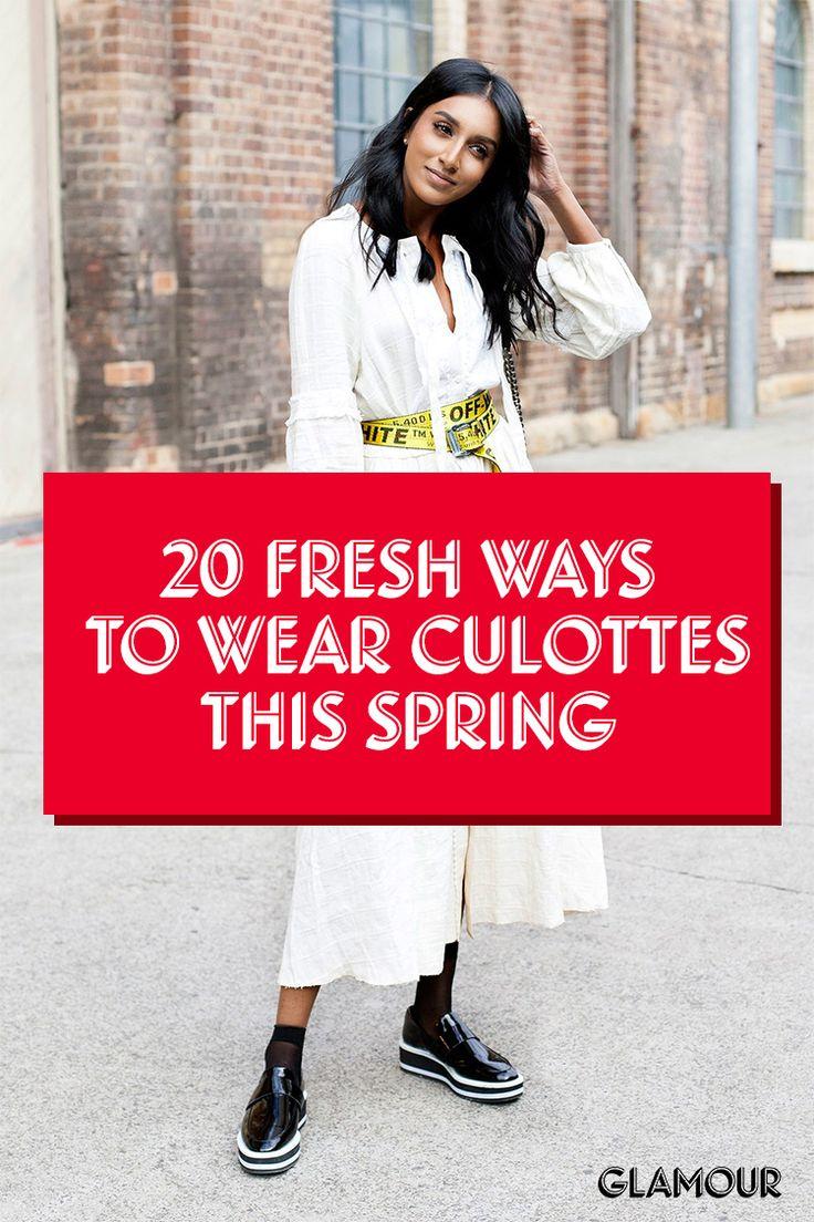 20 Fresh Ways to Wear Culottes This Season