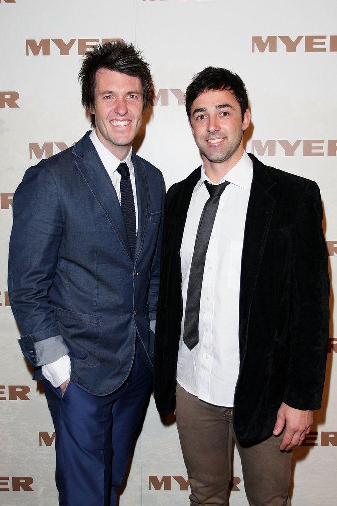 Ben Milbourne and Andy Allen | Black Carpet #MyerSS13