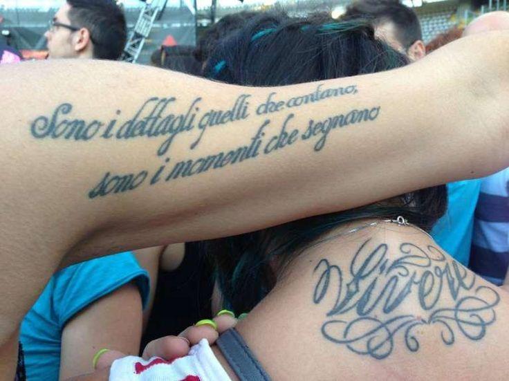 Scritte tatuaggi: frasi in corsivo da copiare  (Foto 27/40) | Donna