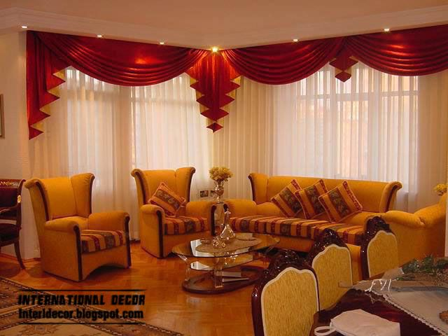 Drapery Designs For Living Room Part - 49: Curtains Catalog Designs, Styles, Colors For Living Room