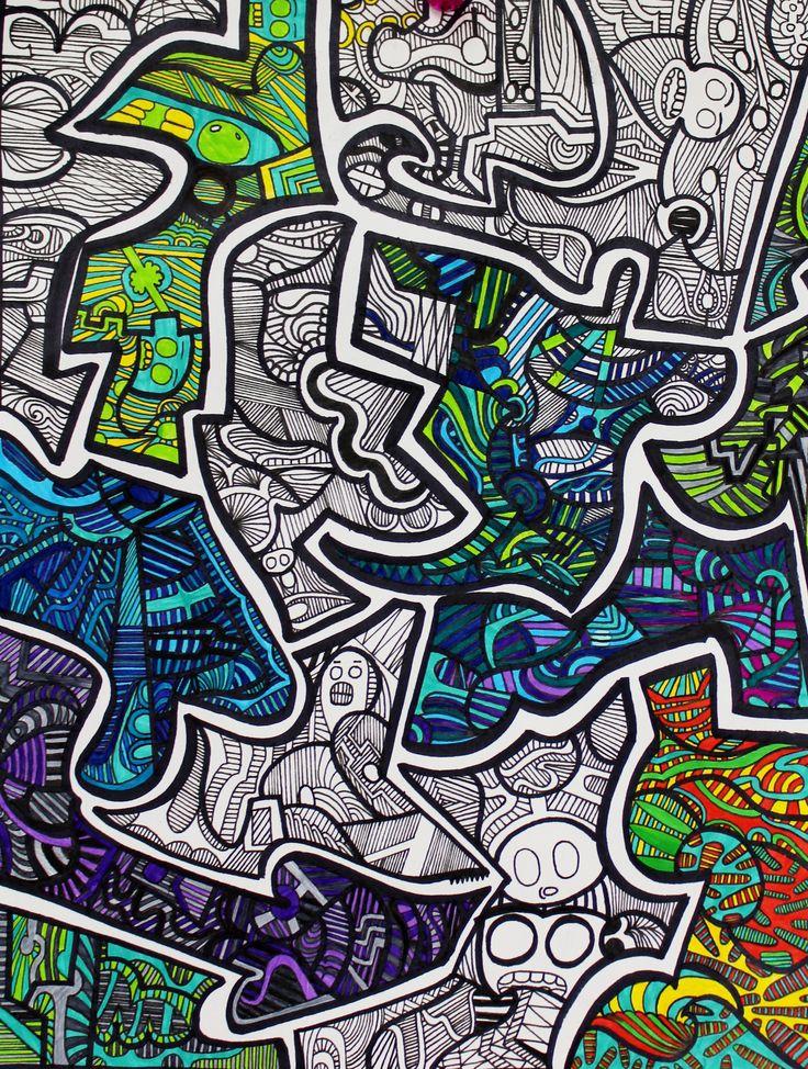 Line Art Projects Middle School : Best images about thoreau middle school art