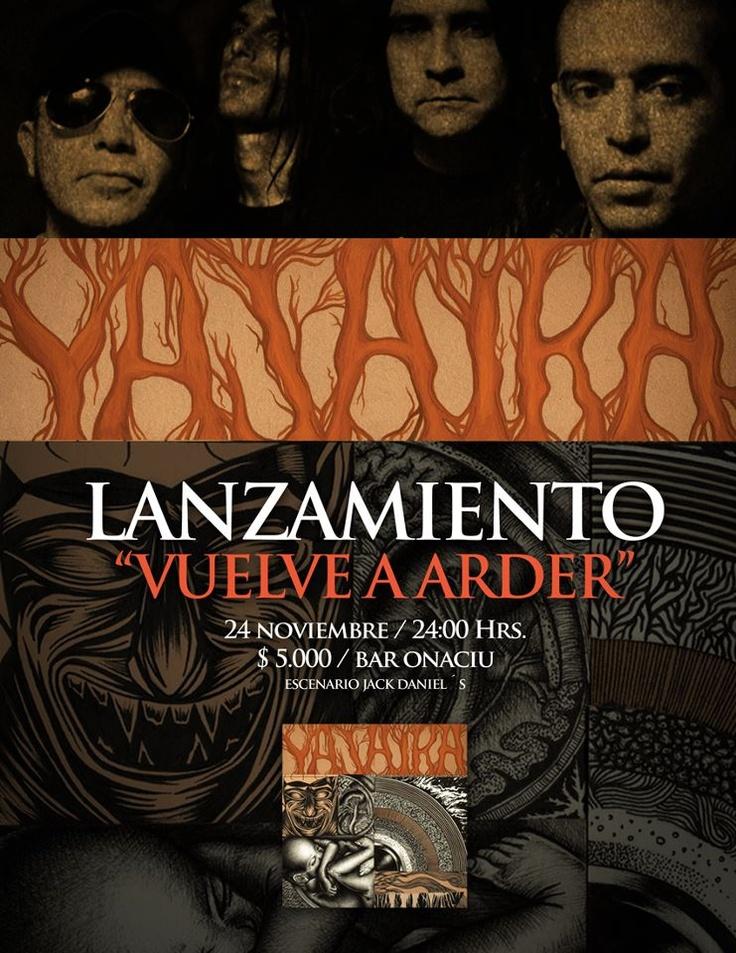 "24 de Noviembre: Yajaira lanzamiento ""Vuelve a Arder"""