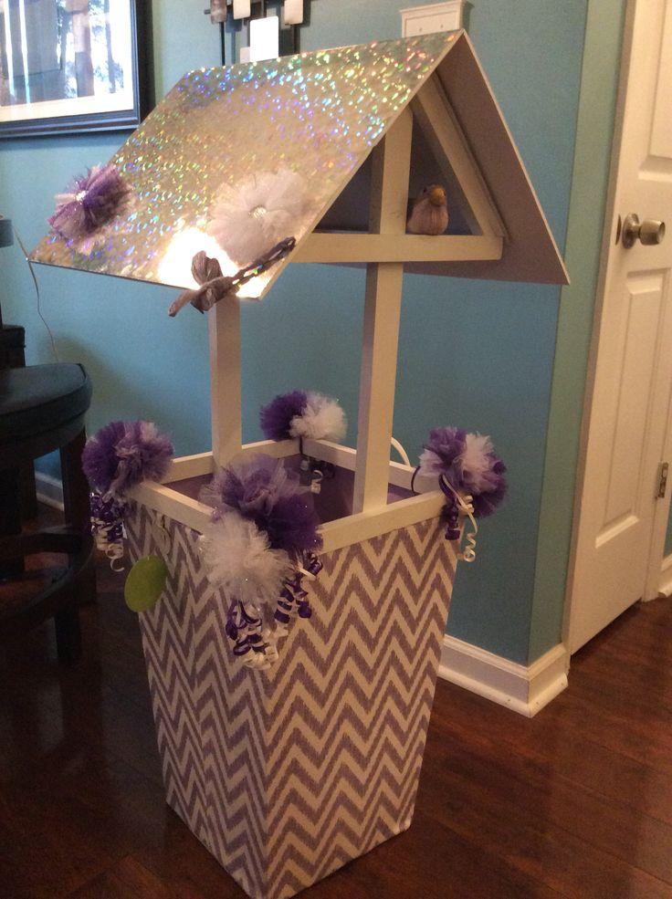 Baby shower wishing well. | Baby Shower | Pinterest