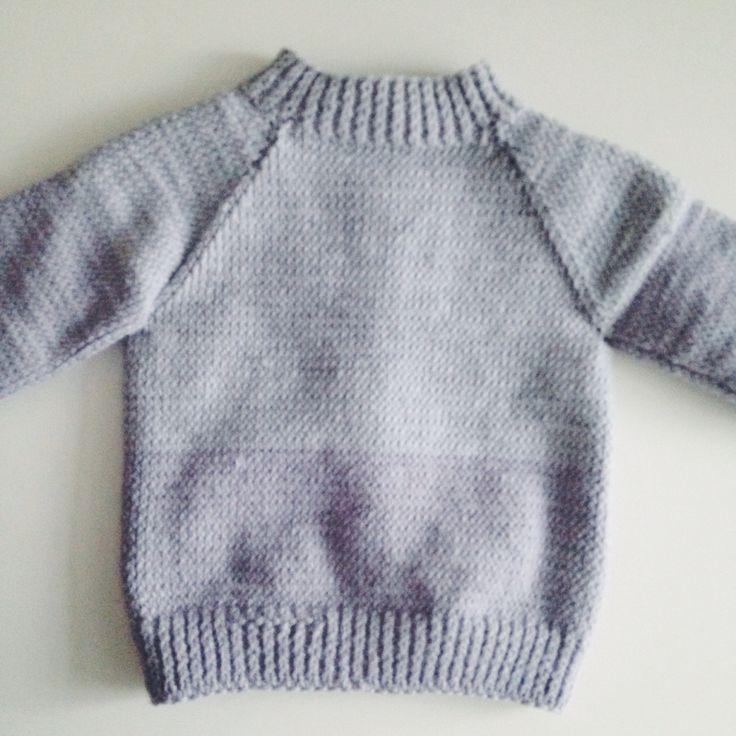 Baby wool cardigan