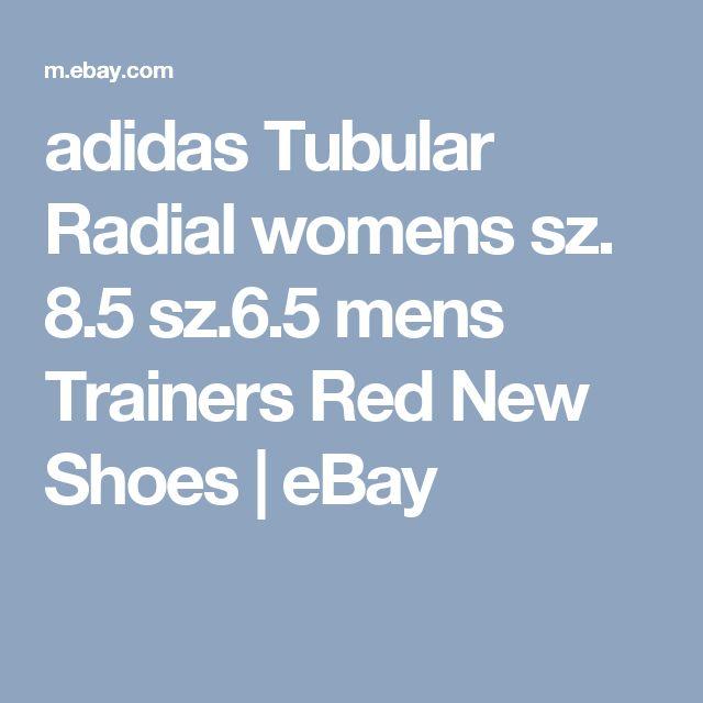 adidas Tubular Radial  womens sz.  8.5  sz.6.5 mens Trainers Red New Shoes  | eBay