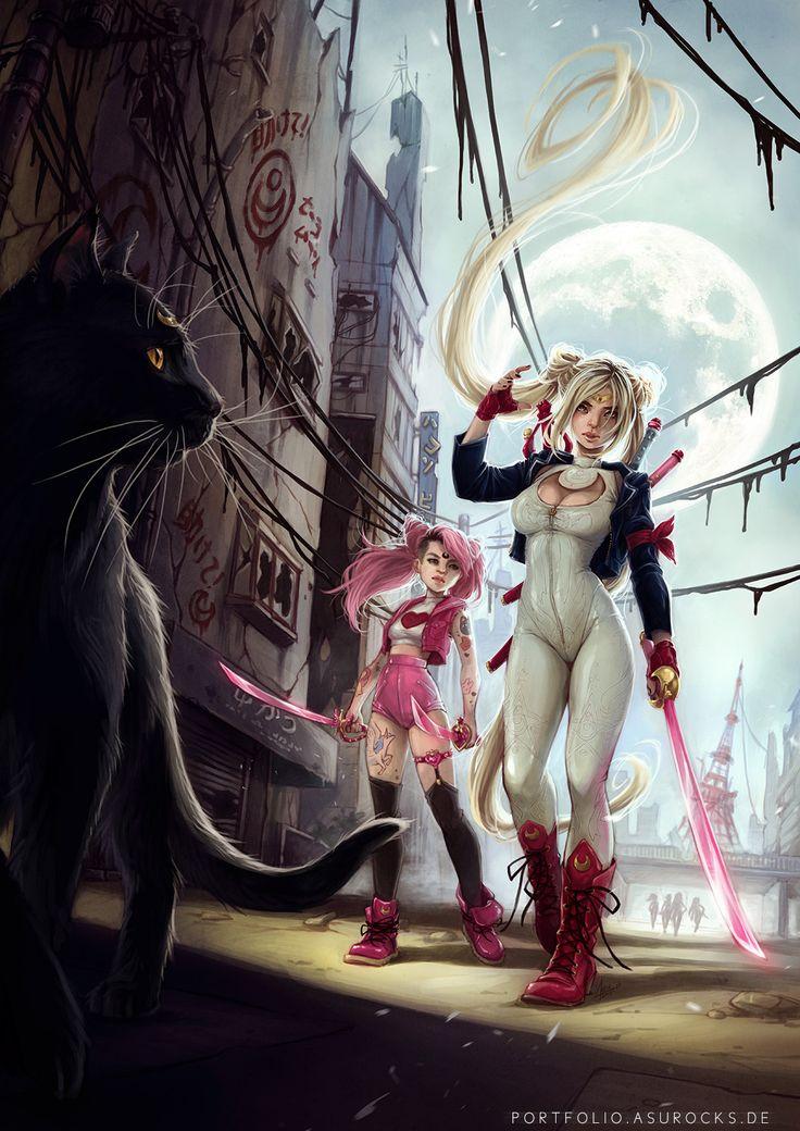 Pinup Arena • asurocksportfolio: 2014 Sailor Moon reboot for...