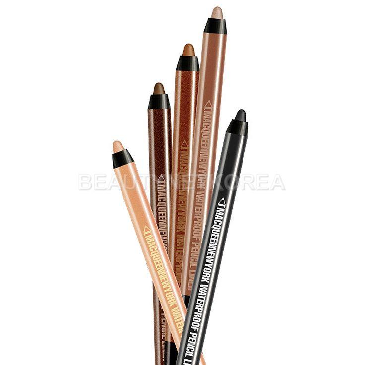 MACQUEEN NEW YORK Waterproof Pencil Gel Liner 1.4g 5 Color