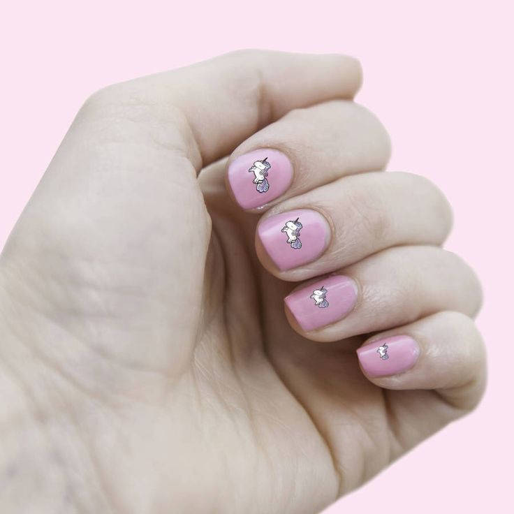 I've just found Happy Unicorn Nail Transfers. A set of illustrated unicorn waterslide nail decals. Fantastic for dinner dates, favours, birthdays and more.. £5.00