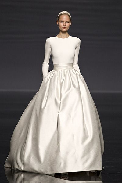 Modern, clean & PERFECT! https://www.etsy.com/shop/Whitesrose Go here for your Dream Wedding Dress and Fashion Gown!