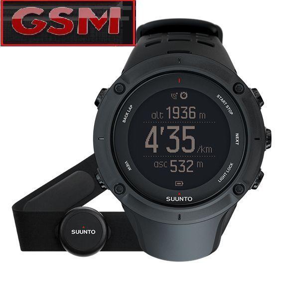 SUUNTO AMBIT3 PEAK BLACK HR  - GPS