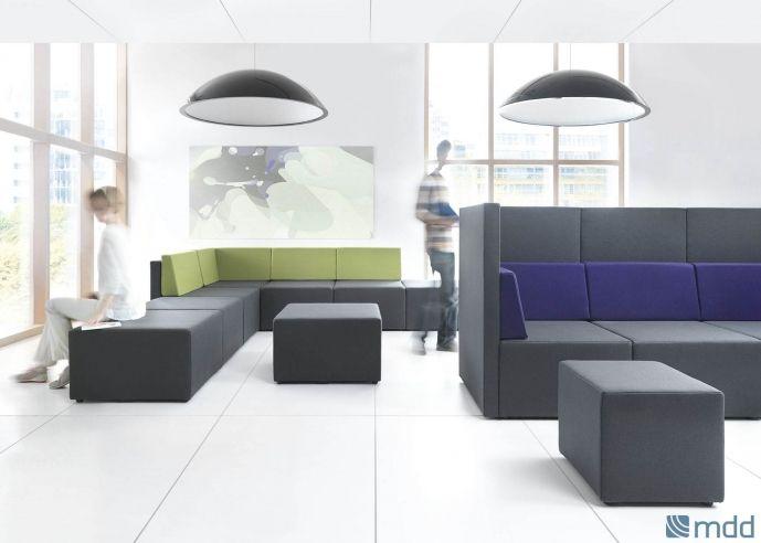 Место, где идеи сами приходят в голову, а неофициальная атмосфера благоприпятствует творчеству. Место встречи коллектива, часто из разных отделов, которые при чашечке кофе обмениваются информацией, знаниями, опытом. Это место Lounge Area от MDD.