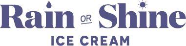 Rain or Shine Homemade Ice Cream