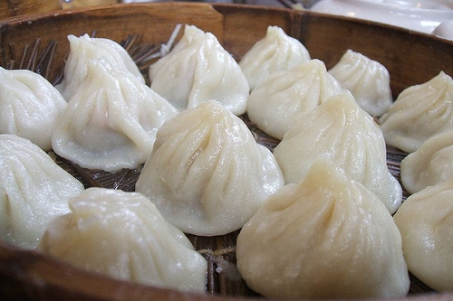 Shanghai soup dumplings. If there were one thing I had to eat for the ...