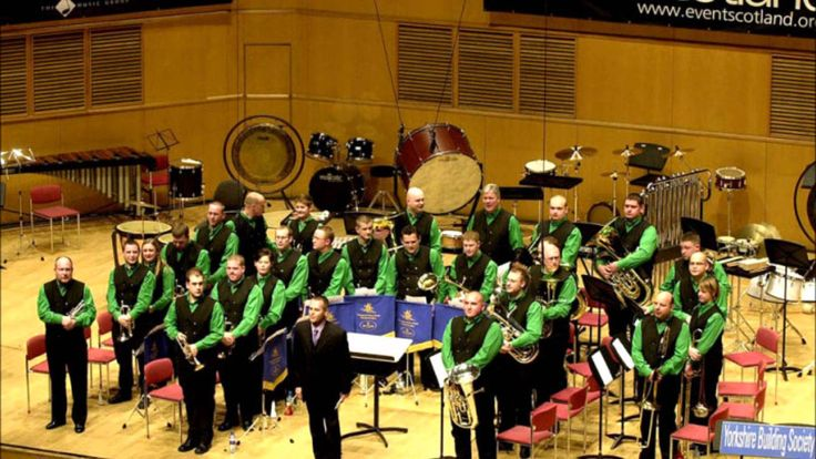 Yorkshire Building Society Band, Harrison's Dream by Peter Graham - YouTube