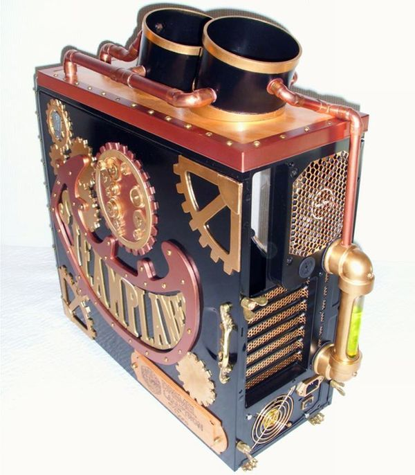 30 Creatively Cool Steampunk Diys: 215 Best Steampunk Pc Images On Pinterest