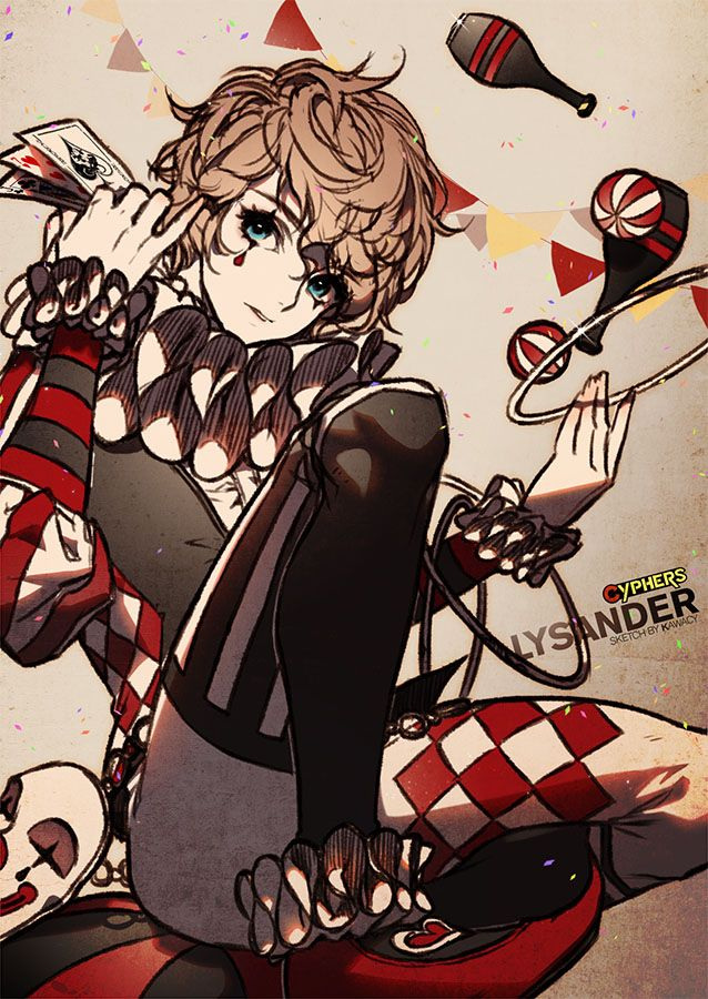 Lysander from the game Cyphers. been a while since last time i drew Cyphers character though ^^;