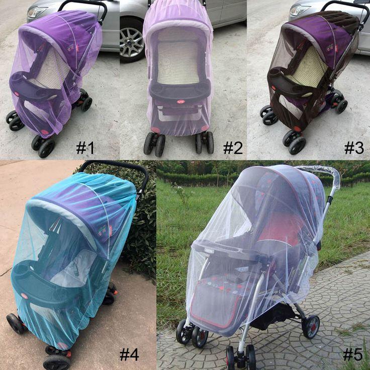 150 cm yaz Bebek Arabası Puset Sivrisinek Net Böcek Kalkanı Güvenli Bebekler Koruma Mesh Arabası Aksesuarları