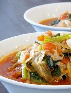野菜ジュースで作るトマトラーメン。 by 薬膳師ゆりぽむ [クックパッド ...
