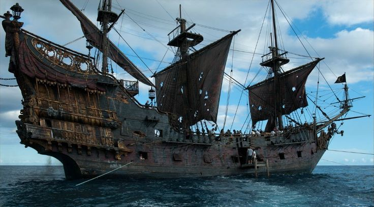 queen anne's revenge front view - Google Search