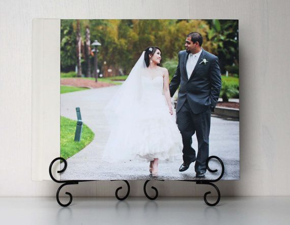 Custom Wedding Al Photo Book W 11x14 Magazine Leather Cover 30 Pages Als Remembered