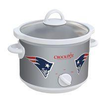 New England Patriots NFL Crock-Pot® Slow Cooker