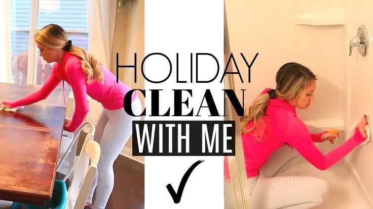 Holiday Speed Cleaning Routine | Clean With Me 2017