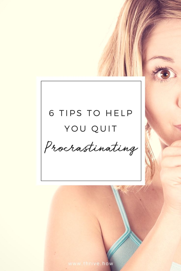 It's so easy to put things off, but inevitably procrastinating just leads to unnecessary stress. The key to overcoming your tendency to procrastinate is finding the Activation Energy required to get off your butt and get started.