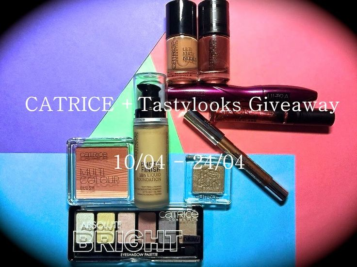 tastylooks - блог обо всем!: CATRICE + Tastylooks Giveaway 10 - 24/04