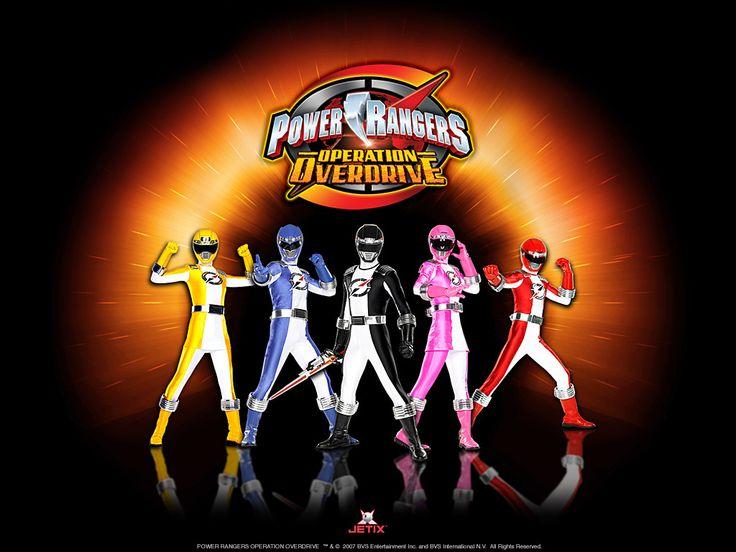 power rangers   Power Rangers - Operation Overdrive Wallpapers