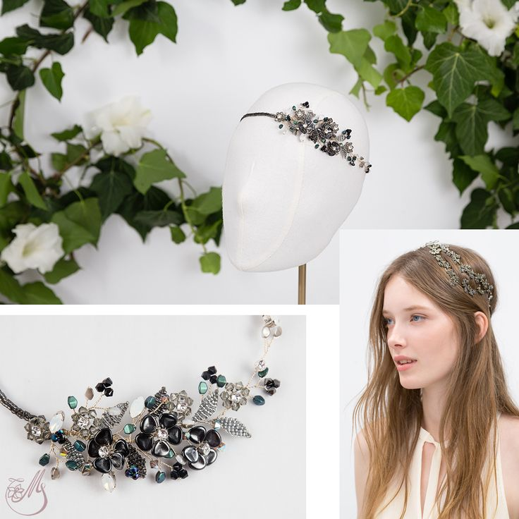 Feeling a little retro today with #RetroRush, a wonderful #accessory from our summer #capsulecollection, #meetmeinthegarden. #maccessories #magnoliaatelier #handmade #unique