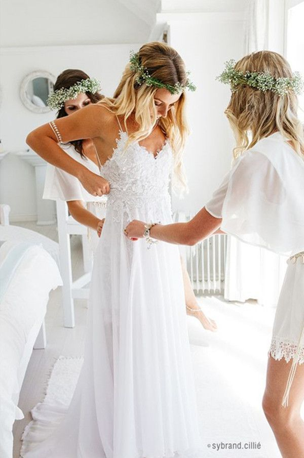 Beach Wedding Dresses » Top 22 Beach Wedding Dresses Ideas to Stand You out » …