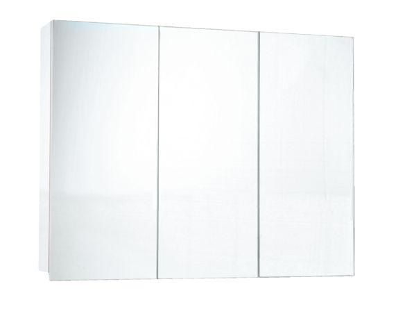 Pharmacie miroir trois portes 36 pouces x 27 pouces for Miroir ikea hemnes