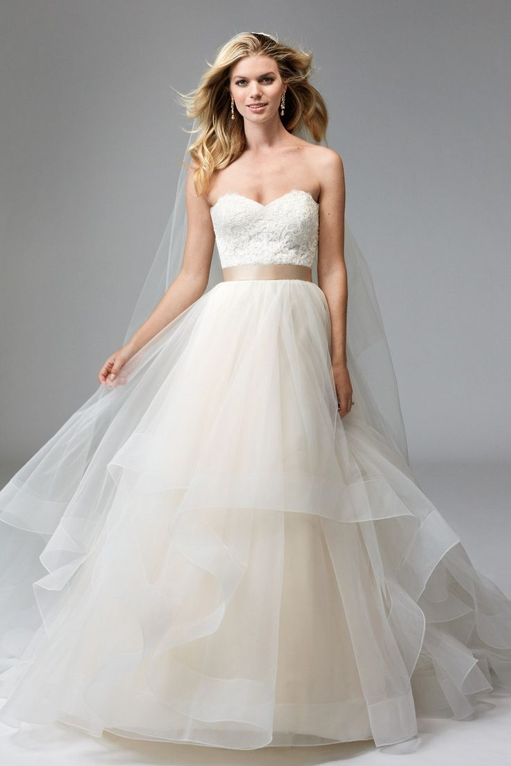 41 best images about wtoo by watters on pinterest for Wedding dresses by watters