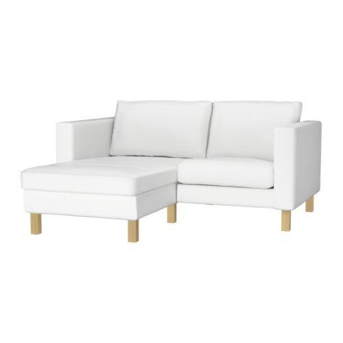 karlstad armchair and chaise lounge blekinge white blekinge white
