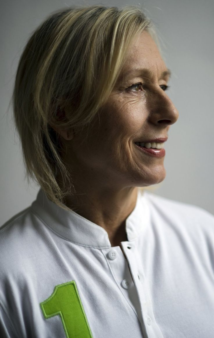 Martina Navratilova, tennis player