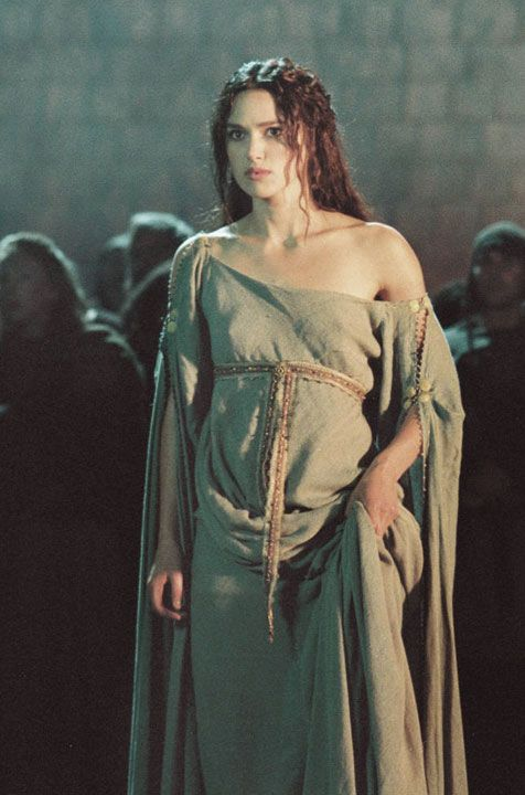 King Arthur : front of dress