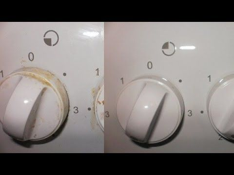 Как очистить ручки у газовой плиты (2 Способа). Простой и экономный способ! - YouTube