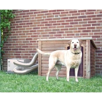 Climate Right Dog House Air Conditioner & Heater