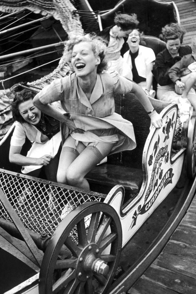 In honor of National Roller Coaster Day, we rounded up the 10 most glamorous vintage photos from the amusement park rides. See our favorites here.