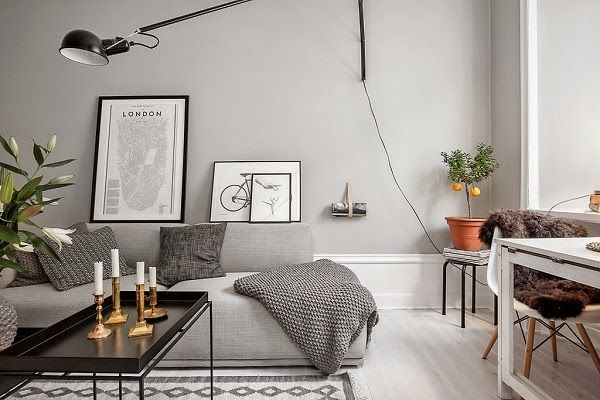 A faded palette: Compact living