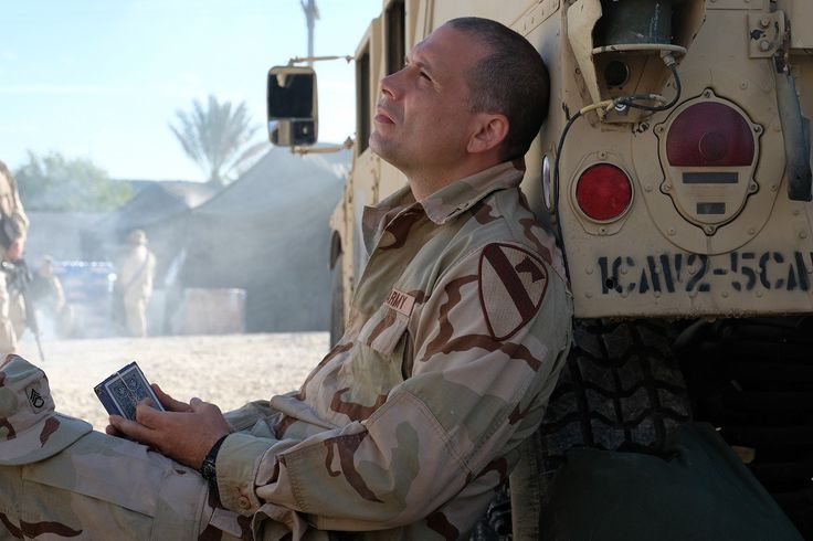 Jeremy Sisto portrays Staff Sgt. Robert Miltenberger on set of The Long Road Home