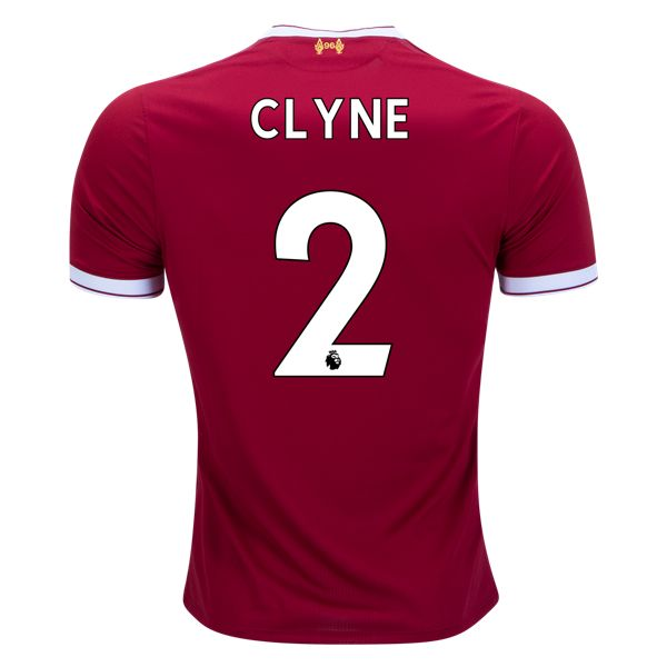 New Balance Nathaniel Clyne Liverpool Home Jersey 17/18