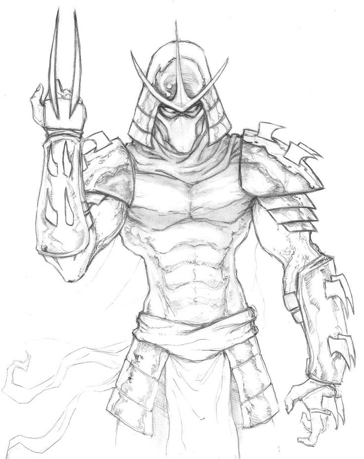 The Shredder TMNT by *ChrisOzFulton on deviantART