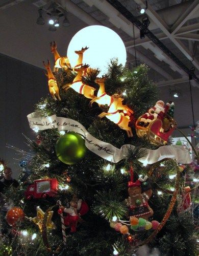 Christmas Tree Topper Inspiration from the Akron Tree Festival