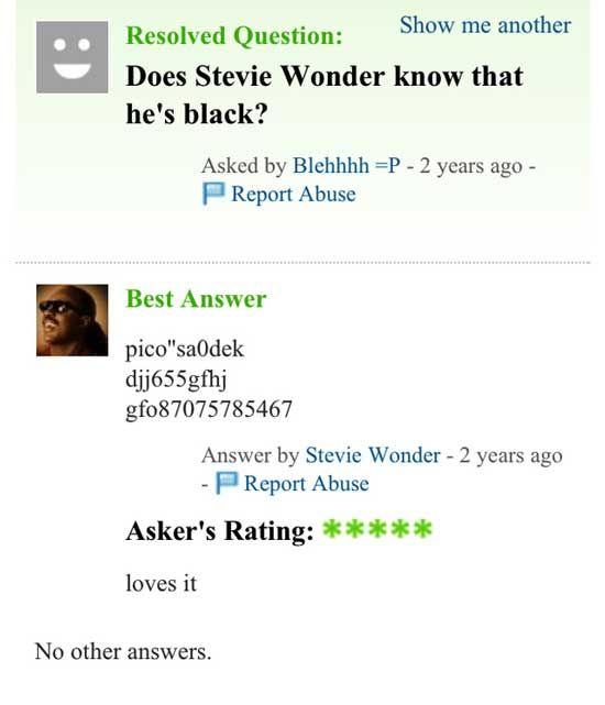 Yahoo answers dating advice
