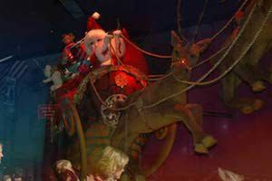 saks fifth avenue off 5th in chicago window display | Chrissie flies Santa's sleigh and saves Christmas in SantaKid. Heather ...